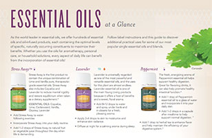 Essential Oils At A Glance