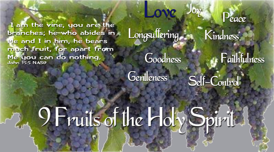 9 Fruits of the Holy Spirit - Love