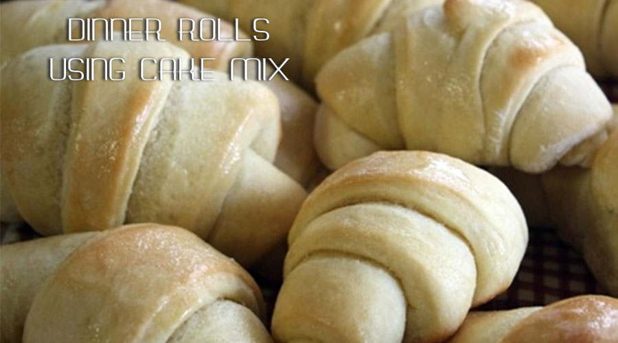 Dinner Rolls Using Cake Mix