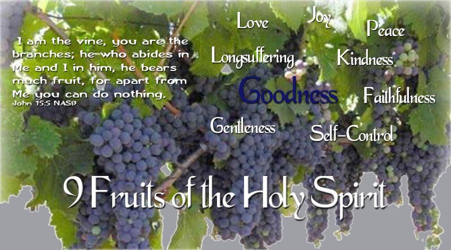 9 Fruits of the Holy Spirit – Goodness