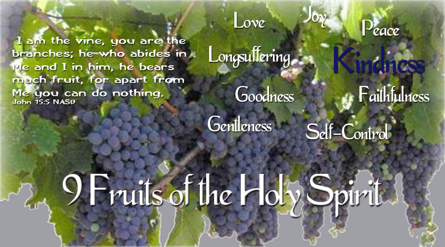 9 Fruits of the Holy Spirit - Kindness